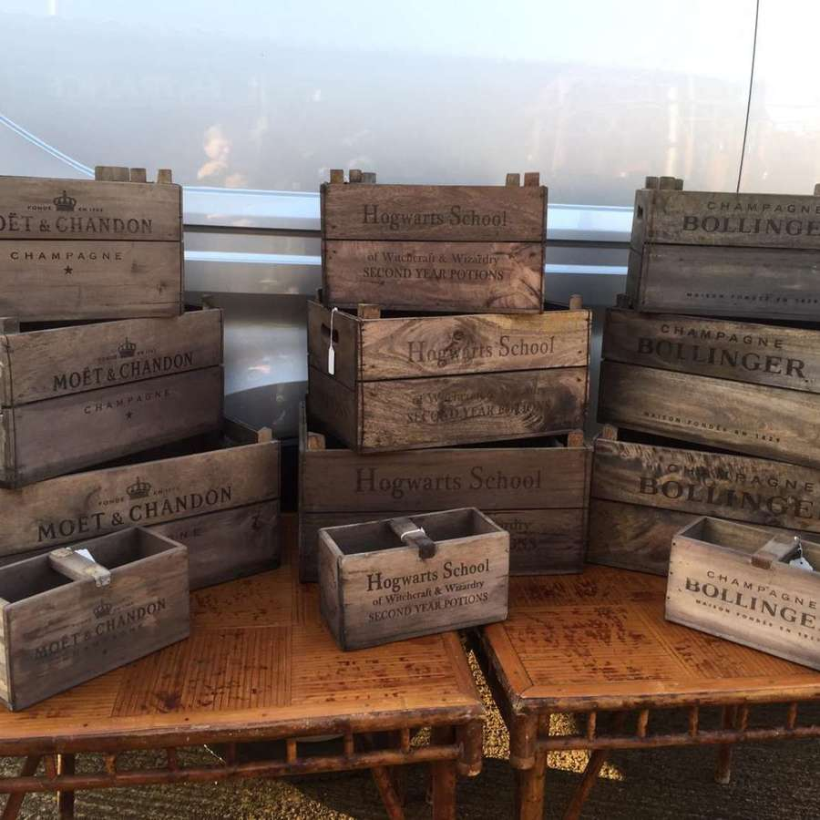 Champagne Crates