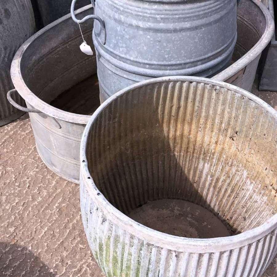 Galvanised Tubs