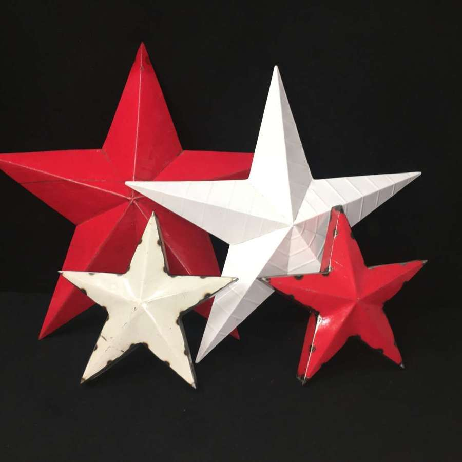 Stars from Oil Drums