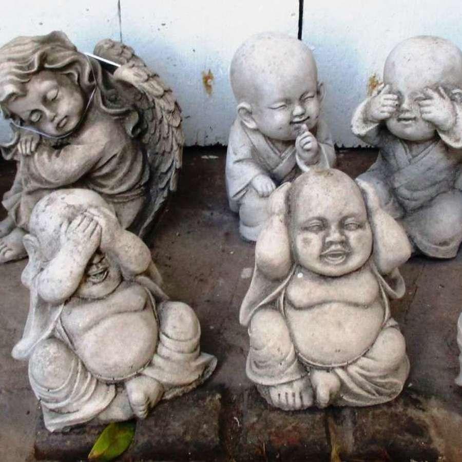 Concrete Cherubs and Monks