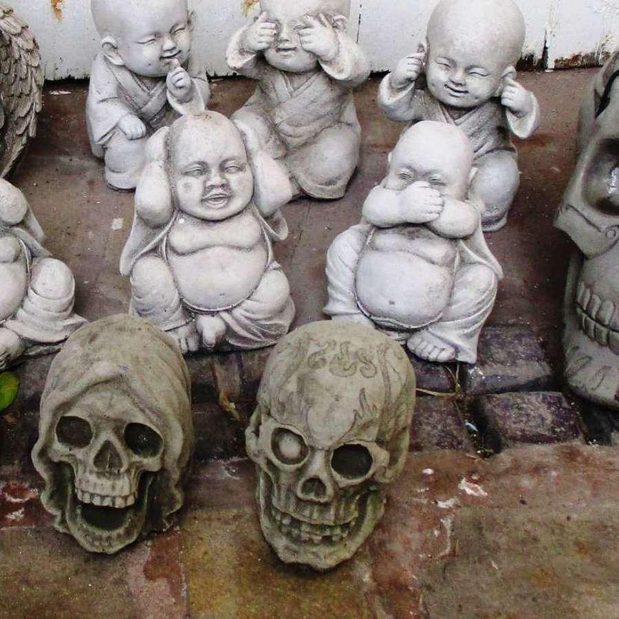 Concrete Skulls