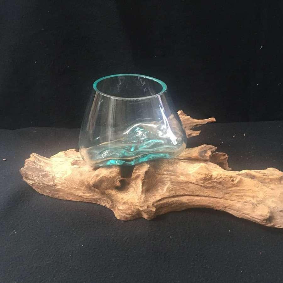 Glass Root Vases
